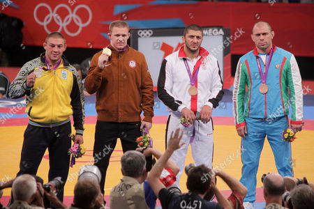 Editorial photo of The 2012 London Olympic Games, Wrestling, Britain - 12 Aug 2012