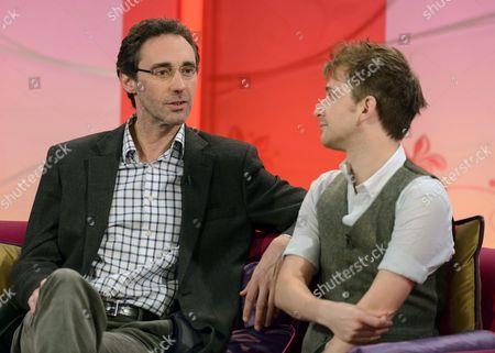 Editorial image of 'Lorraine Live' TV Programme, London, Britain - 14 Aug 2012