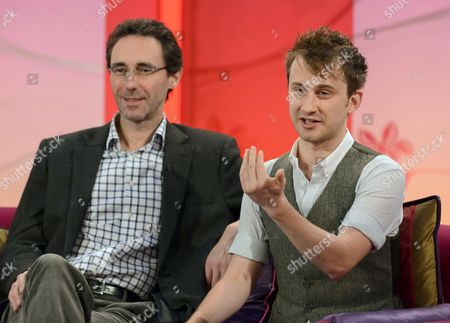 Stock Picture of Guy Henry and Leander Deeny