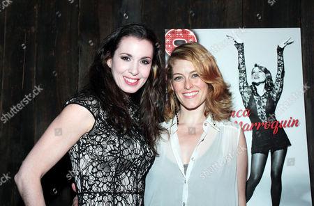 Melissa Rae Mahon and Dylis Croman