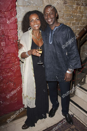 Adjoa Andoh and Cyril Nri