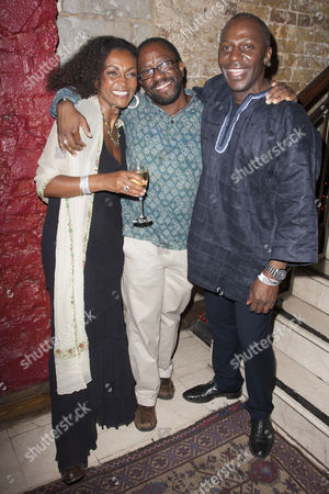 Adjoa Andoh, Lucian Msamati and Cyril Nri