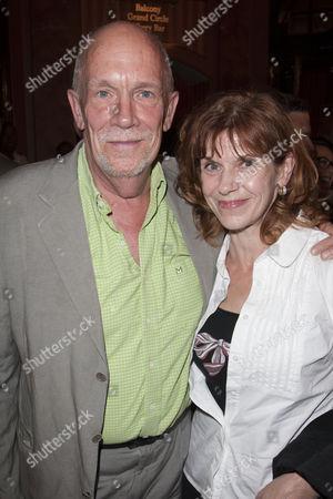 Hugh Ross and Siobhan Redmondn