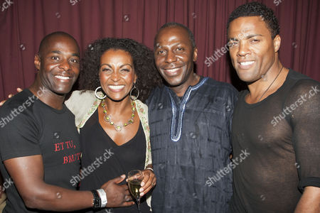Paterson Joseph, Adjoa Andoh, Cyril Nri  and Ray Fearon