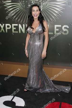 Editorial photo of 'The Expendables 2' film premiere, Los Angeles, America - 15 Aug 2012