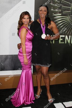 Stock Photo of Charisma Carpenter and Danielle Scott Aruda