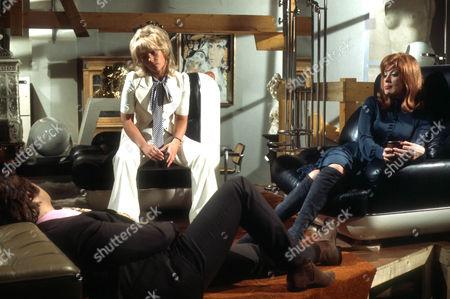 David Buck as Bryn Gurney, Julia Foster as Sally Blissett and Sheila Fearn as Estelle Gurney