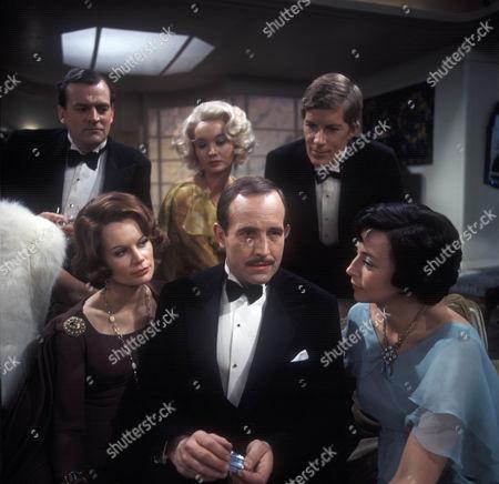 Moray Watson as Robert Caplan, Joanna Dunham as Freda Caplan, Nicola Pagett as Betty Whitehouse, Ian Hendry as Charles Stanton, Nicholas Pennell as Gordon Whitehouse and Gwen Watford as Olwen Peel.