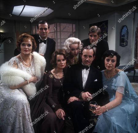 Margaretta Scott as Miss Mockridge, Moray Watson as Robert Caplan, Joanna Dunham as Freda Caplan, Nicola Pagett as Betty Whitehouse, Ian Hendry as Charles Stanton, Nicholas Pennell as Gordon Whitehouse and Gwen Watford as Olwen Peel.