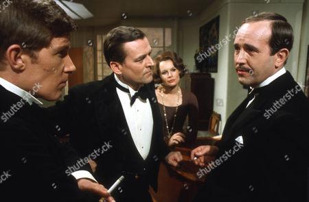 Nicholas Pennell as Gordon Whitehouse, Moray Watson as Robert Caplan, Joanna Dunham as Freda Caplan and Ian Hendry as Charles Stanton