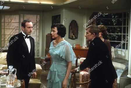 Ian Hendry as Charles Stanton, Gwen Watford as Olwen Peel and Nicholas Pennell as Gordon Whitehouse