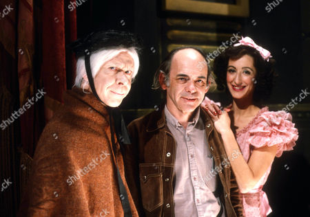 Brian Murphy as Arthur Lucan / Old Mother Riley, writer Alan Plater and Maureen Lipman as Kitty McShane / Kitty Riley
