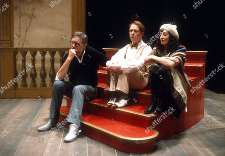 Director John Glenister, Brian Murphy as Arthur Lucan / Old Mother Riley and Maureen Lipman as Kitty McShane / Kitty Riley