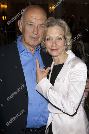 Stock Image of Roy Marsden (Director) and Jenny Seagrove (Adela Shelly)