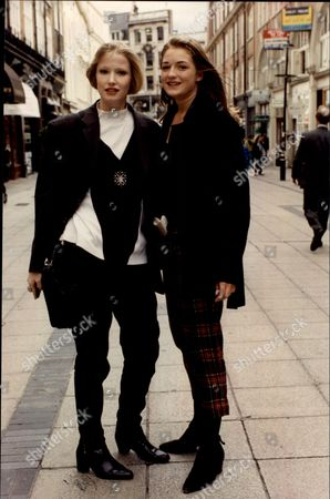 Fashion Women 1990 Jill Wanless (left) From Ladbroke Grove And Emma Gray From Putney Are Both Studying Fashion Journalism At The London College Of Fashion.