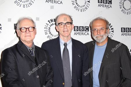 Barry Levinson, Ken Tucker and Tom Fontana