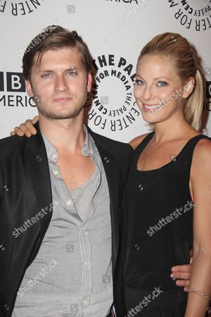 Tom Weston-Jones and Anastasia Griffith