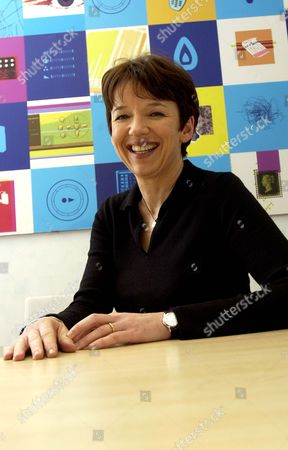 Dawn Airey of British Sky Broadcasting at Their Offices in Victoria, London, Britain