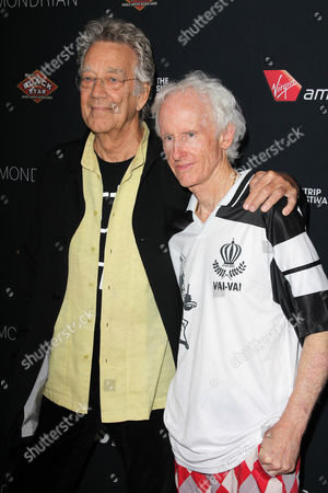 Ray Manzarek and Robby Krieger