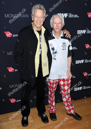 Ray Manzarek and Robby Kriegger