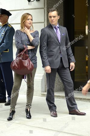 Kaylee DeFer and Ed Westwick
