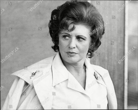 Actress Pat Phoenix After Announcing The End Of Her Marriage To Alan Browning.