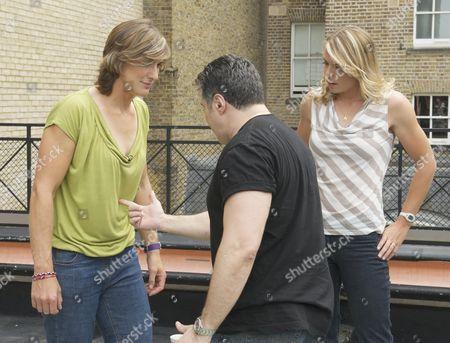 Katherine Grainger, Steve Truglia and Anna Watkins
