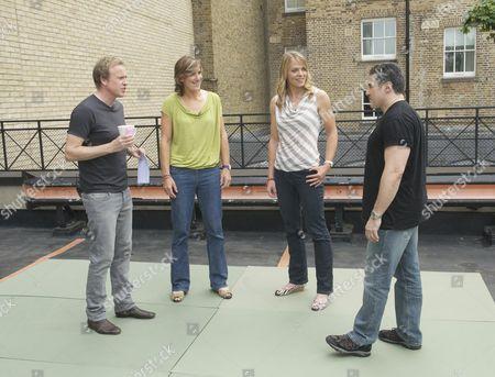 Tim Lovejoy, Katherine Grainger, Anna Watkins and Steve Truglia