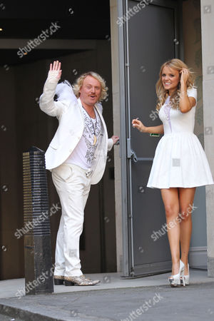 Stock Image of Leigh Francis and Rosie Parker