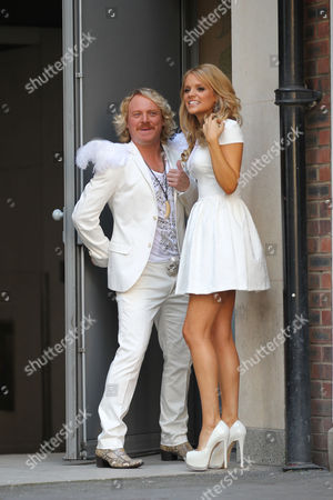 Editorial image of Celebrities at the Soho Hotel, London, Britain - 20 Aug 2012
