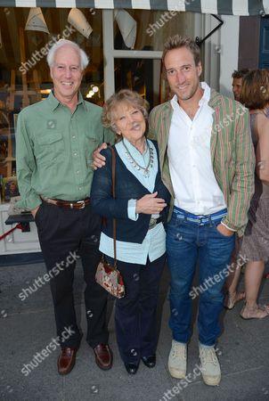 Bruce Fogle, Julia Foster and Ben Fogle