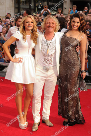 Stock Photo of Rosie Parker, Keith Lemon and Kelly Brook