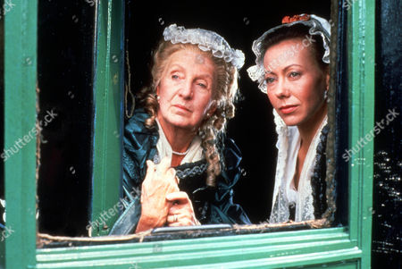 Stock Picture of Joan Hickson as Duchess of Marlborough and Jenny Agutter as Hannah Coke