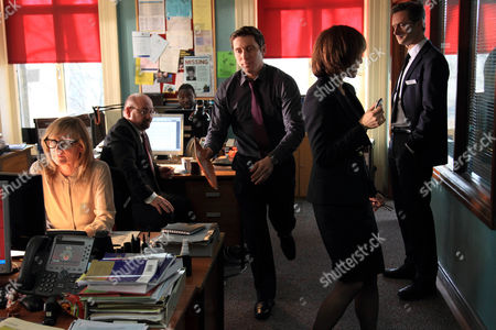 Lesley Sharp as DC Janet Scott, Tony Mooney as DC Pete Readyough, Ben Batt as DC Kevin Lumb, Amelia BullmorE as DCI Gill Murray and Nicholas Gleaves as DS Andy Roper.