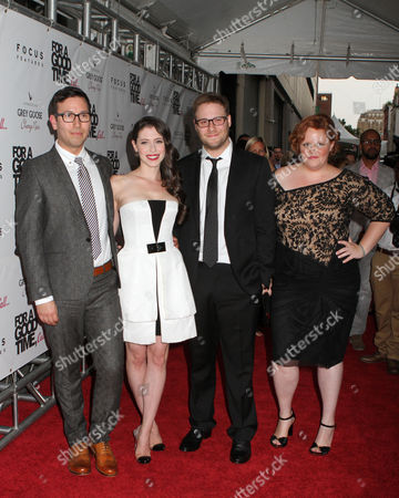 Jamie Travis, Lauren Anne Miller, Seth Rogen and Katie Anne Naylon
