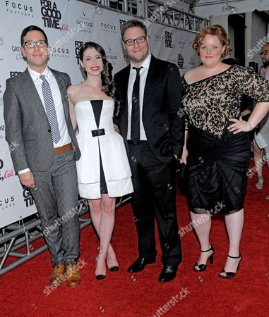 Jamie Travis, Lauren Miller, Seth Rogen and Katie Anne Naylon
