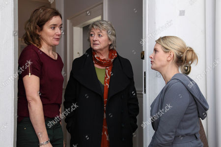 Sophie Thompson as Penny, Sorcha Cusack as Liz and Andrea Lowe as Lucy.