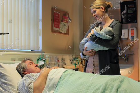 Gregor Fisher as Will and Andrea Lowe as Lucy with Baby.