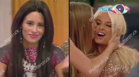 Jasmine Lennard is evicted, while Rhian Sugden is congratulated by Danica Thrall