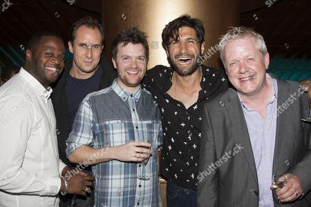Javone Prince, Andrew Brooke, Tom Bennett (Arthur), Kayvan Novak and Martin Trenaman