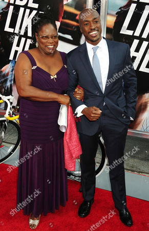Wole Parks and mother Lillith Parks