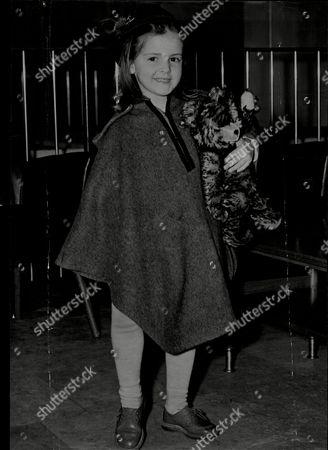 Baroness Ludmila Von Falz-fein Aged 4 Arriving In London.