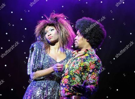 Emi Wokoma as Tina Turner, Chris Tummings as IkeTurner