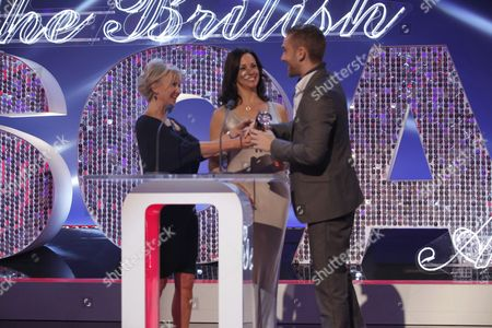 Lisa Maxwell and Andrea McLean with Marc Silcock