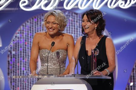 Lisa Gormley and Lynne McGranger