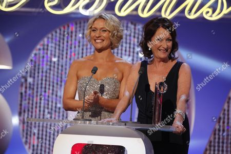 Stock Photo of Lisa Gormley and Lynne McGranger