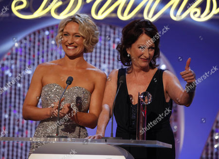 Best Exit Presenters - Lisa Gormley and Lynne McGranger