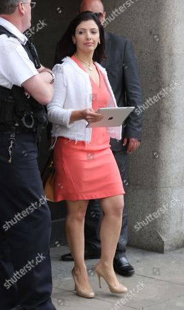 Editorial photo of Asil Nadir Polly Peck trial at the Old Bailey, London, Britain - 23 Aug 2012