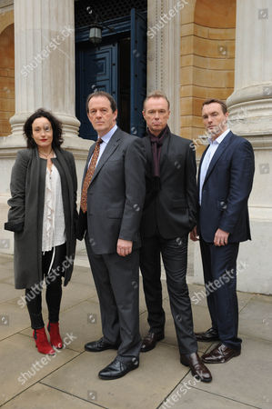 Kevin Whately as DI Lewis, Lucy Cohu as Marion Hammond, Gary Kemp as Tom Garland and Ciaran McMenamin as Nick Addams.