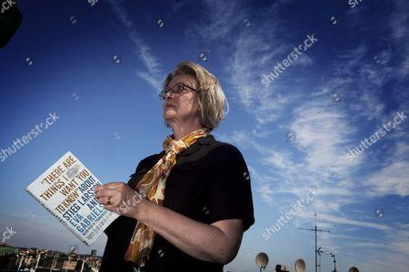Editorial picture of Eva Gabrielsson in Stockholm, Sweden - 25 Jul 2012
